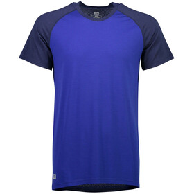 Mons Royale M's Temple Tech T T-Shirt Navy/Electric Blue